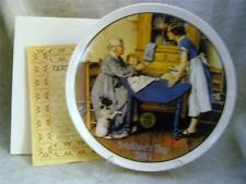 Knowles / Bradford Exchange / Add Two Cups & A Measure Of Love By Rockwell Plate
