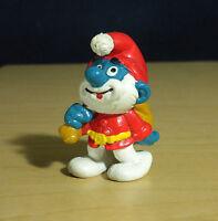 Smurfs 20124 Santa Claus Papa Smurf Vintage Christmas Figure Toy PVC Figurine