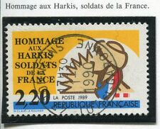 TIMBRE FRANCE OBLITERE N° 2613 HOMMAGE AUX HARKIS / Photo non contractuelle