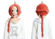 W-149 rot red zinnrot vermillion Gintama Kamui 70cm COSPLAY Perücke WIG Perruque
