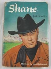 SHANE JACK SCHAEFER 1954 HOUGHTON MIFFLIN 1ST ILLUS ED DJ JOHN MCCORMACK