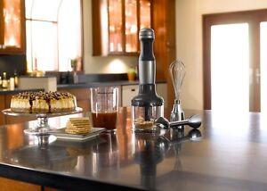 KitchenAid 3-Speed Immersion Hand Blender KHB2351cu Silver blend chop