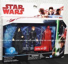"""Star Wars The Last Jedi 3.75"""" Figure Pack Emperor Luke Skywalker Royal Guard"""