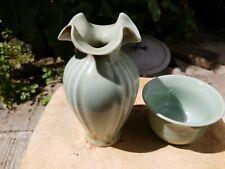 Chinese porcelian Vase & Cup 龙泉窑