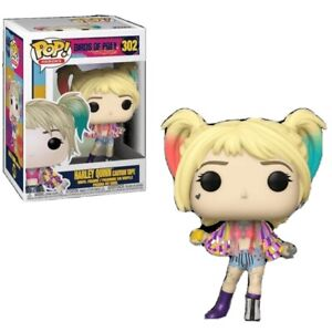 Funko POP! Heroes: Birds of Prey Harley Quinn Caution Tape Vinyl Figure - #302