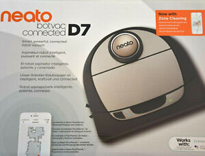 Neato Robotics Botvac D7 Connected Saugroboter D701 WLAN App Tierhaare NEU & OVP