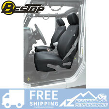 BESTOP Front SEAT COVERS 13-18 Jeep Wrangler JK JKU Factory Front Seats - Black