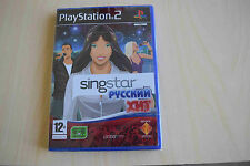 Singstar russian hits PS2  12+  *rare* ( new & sealed) 2 games