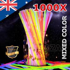 1000 Mixed Color Glow Sticks Bracelets Light Party Glowsticks Glow in The Dark
