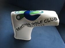Sentosa Golf Club Singapore Putter Headcover Nwot Peacock
