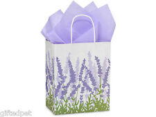 Lavender Fields Recycled Paper Shopping / Gift Bags (Set of 2)