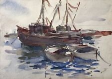 Antique Maritime Art Paintings (Pre-1900)