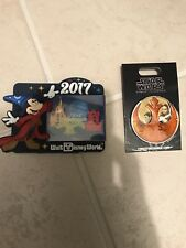 Walt Disney World Combo 2017 Magnet And Star Wars Pin