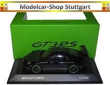 Porsche 911 GT3 Rs Noir Édition Limitée 500 Spark 1:43 - WAX02020083 Neuf