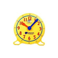 LEARNING RESOURCES DEMONSTRATION CLOCK SAXON MATH HOMESCHOOLTEACHER RESOURCE NEW