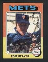 1975 Topps #370 Tom Seaver NM/NM+ Mets 124282