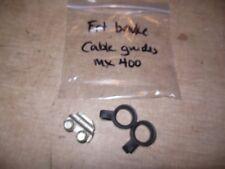 01 2001 Cannondale MX400 MX 400 front brake hose guides clamp set 3
