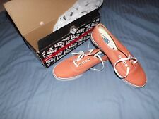 vans of the wall unisex 7.5 uk salmon orange mint boxed free uk postage