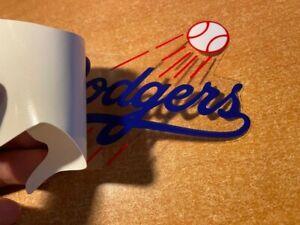 Baseball LA Los Angeles Dodgers Full Color Inside Window Decal Sticker NEW !!!
