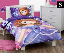 SINGLE BED SOFIA THE FIRST PRINCESS GIRLS QUILT DOONA COVER & PILLOWCASE SET!