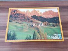 Puzzle 3000 Teile Herbst im Villnößtal - F.X. Schmid - No. 98612.7 - Innen OVP