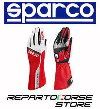 Guanti Kart SPARCO Track Kg-3 Tg 11 Rosso Karting Gloves Red Size 11 Handschue