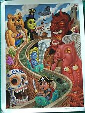 MOE. poster moe. songs Cruise 2007 Pooch 1st Edition Phish Umphrey Mcgee Twiddle