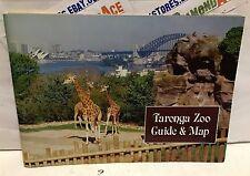Taronga Zoo Guide & Map Fourth edition 1986 Australia! LIKE NEW! VINTAGE! RARE!