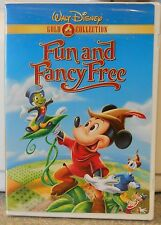 Fun and Fancy Free (DVD 2000 Gold Collection)  RARE BRAND NEW W BUENA STAMP