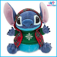 "Disney Lilo & Stitch's Stitch Christmas Holiday 12"" Plush Doll Toy brand new"