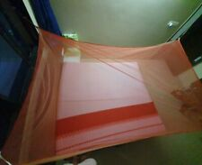Dayaben Mosquito Net - Double Bed - Red & Cream Color (4*6 Feet)