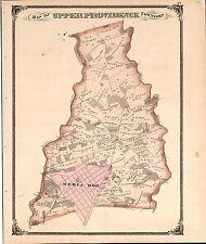 Henry County Indiana 1875 Atlas plat map Genealogy history Dvd P59