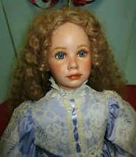 Porcelain Bisque Doll MANDY by Donna Rubert Large 27.5""