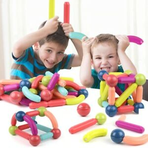 Magnetic Balls and Rods Stick Building Block Set Educational Toys