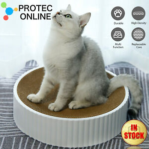 Cat Scratcher Scratching Lounge Bed Bowl-Shaped Resistant Durable Sofa Pet House