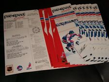 1988 Pro-Sport Autograph HOCKEY Card SET ° LOT OF OF 7 DALE HAWERCHUK CARDS °