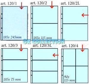 10 Fogli Masterphil banconote cartoline francobolli K211 (entra e scegli misura)