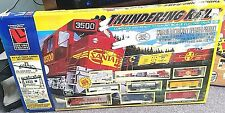 Life-Like THUNDERING RAILS HO Scale Electric Train Set 150 Pieces NIB Vintage