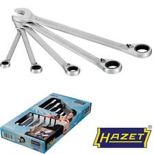 Hazet 606/5 8 - 19 mm Knarren-Ring-Maulschlüssel-Satz - 5 Teilig