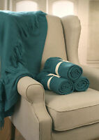 Throw Rug Soft Touch Throw Blanket Decorative Bedding Blanket 127x150cms - TEAL