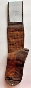 VK Nagrani Men's Premium Luxury Socks Average Size Over Calf  CCPO16L Brown