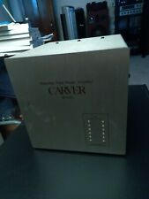 New listing Carver M400 Power Amplifier