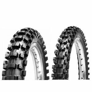 "CST By Maxxis Motocross MX Bike Tyre Set: Front 80/100-21"" / Rear 110/90-19"""