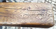 """OAK BEAMS RUSTIC FIRE PLACE WOOD BURNER TIMBER OAK 4"""" x 5"""" long 4ft"""