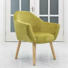 Luxurious Green Velvet Contemporary Vanity Chair Pouffe Stool Bedroom Furniture