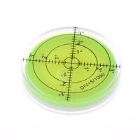 60x12mm Precision Disc Runde Rund Bubble Wasserwaage Messwerkzeug Geschenk WH