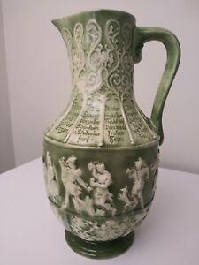 Vintage 1973 Atlantic Mold Beautiful Decorative Pitcher Vase Planter