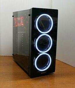 NEW Quad Core Gaming PC Desktop Computer GTX 645 3.7 GHz 500 8GB RAM WIN 10