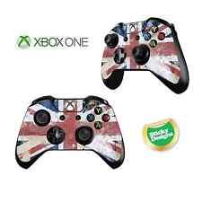 Xbox One GB Drapeau Union Jack Grunge Style Jeu Manette/manette Stickers/