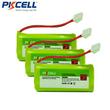 3 Pack Cordless Phone Batteries 2.4V for BT1011 BT1018 BT18433 BT184342 BT284342